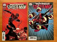 MILES MORALES SPIDERMAN 5, 6  2nd Print 1st Cameo/Appearance Starling  NM