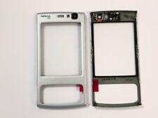 100% Original Nokia N95 A-Cover Frontscheibe Hörer Oberschale Silber