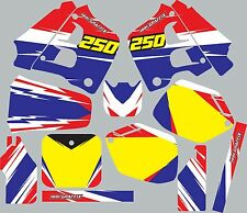Graphic Kit for 1990-1991 Honda CR250 CR 250 shrouds fender plastic decals