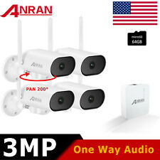 Anran 1080p Home Security Camera System Wireless Outdoor Cctv 4Ch Nvr With 1Tb