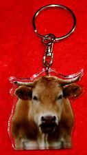 porte-cles vache 1 blonde d'aquitaine animals keychain llavero animales