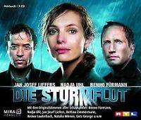 Die Sturmflut. 3 CDs . Hörfilm von Liefers, Jan J., Uhl,...   Buch   Zustand gut