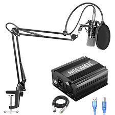 Neewer NW-700 Kondensatormikrofon Set mit USB 48V Phantomspeisung