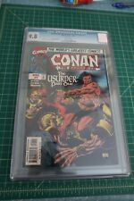 CONAN THE BARBARIAN THE USURPER PART #1 CGC 9.8 NM/MT, DEC 1997 WHITE PAGES