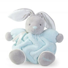 "Kaloo Plume Medium Chubby Rabbit - 10"" - Aqua Plush"