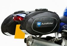 Autokicker® Side Kick Saddle Bag kit Motorcycle Motorbike Panniers luggage 60L