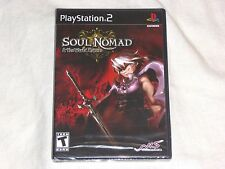 NEW Soul Nomad & the World Eaters Playstation 2 Game SEALED PS2 rpg and US NTSC