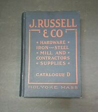 1919 Trade Catalogue J Russell & Co Hardware Railroad Supplies Manufacturing