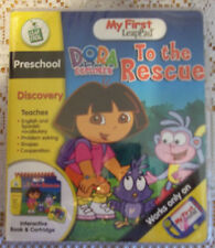 My First LeapPad Dora The Explorer To The Rescue Interactive Book & Cartridge