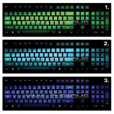 Mechanical Keyboard Cherry MX Keycap / Key cap Vinyl Decals - 013