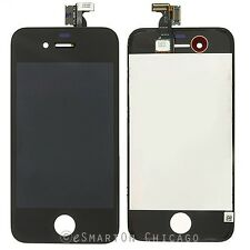 Black iPhone 4S LCD Display Touch Screen Digitizer w/ Frame Assembly Replacement