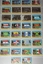 PANAMA 1980 1398-27 V-VI Flags  Bolivar Olympics Moscow ovp silver Gold MNH