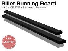 2002 08 Dodge Ram 1500 2500 Aluminum Black Billet Running Boards Side Step