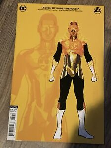 Legion of Super-Heroes #7 (2020) - Ryan Sook Gold Lantern Design Variant