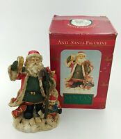 VTG Three Hands Corp Santa's Collection Santa Tambourine Holiday Figurine 5.75""