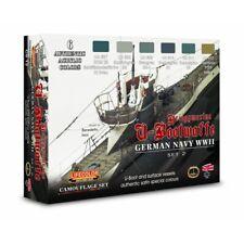 Lifecolor CS12 German Navy WWII Set 2 Kriegsmarine 6 x 22 ml (100ml = 13,64€)