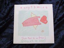 EURYTHMICS - THERE MUST BE AN ANGEL - Original UK 45 Vinyl Record (1985)