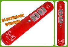 SeKi SLIM Universal Remote Control (red) Brand NEW