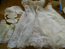 VINTAGE MADONNA CHRISTENING SET~0 to6 Mo.~ FREE SHIPPING~