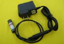650nm 658nm 100mW Red Laser Dot Module Driver 5VDC 13x42mm plug adapter DC3V 5V