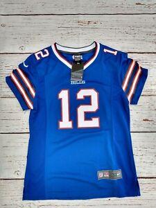 NWT #12 Jim Kelly Buffalo Bills Nike Jersey Blue 2xl xxlarge youth