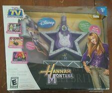Disney HANNA MONTANA PLUG N PLAY TV DESIGN GAME NEW