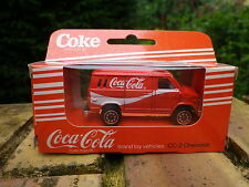 EDOCAR cc-2 Coca Cola 1988: CHEVROLET VAN état Neuf en boite d'origine