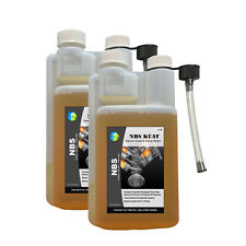 NBS KUAT 2L Diesel Fuel Injector Cleaner Treatment Dosage 1:1500