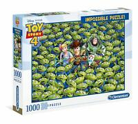 Clementoni- Impossible Disney Toy Story 4-1000 pièces, Puzzle Adulte, 39499, Mul