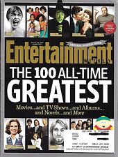 ENTERTAINMENT WEEKLY N°1266-1267 5 JUILLET 2013  THE 100 ALL-TIME GREATEST