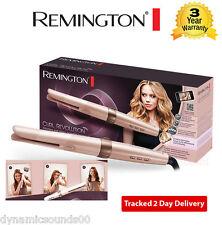 Remington ci606 Curl Revolución Giratorio Barrel Hair Styler gran rolo 230 ° C