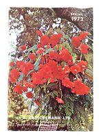 Spring 1972 CA Cruickshank Garden Guild Guide Booklet L317