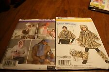 2 Simplicity Patterns  Winter wear for you and you dog (RC)