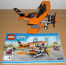 Lego City Doppeldecker Flugzeug aus Set 60103 + OBA (ohne Figuren)