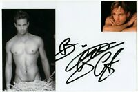 Autografo di Gabriel Garko su foto - Italian Actor Signed Photo Shirtless Cinema