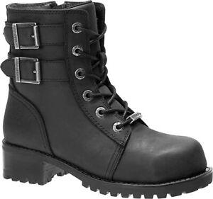 HARLEY-DAVIDSON FOOTWEAR Women's Archer St Construction Boot Size 8 M