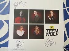 Tyler Posey Dylan Sprayberry Christian signed auto Teen Wolf 2015 SDCC poster