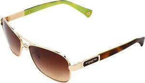 COACH Caroline Brown Gradient Sunglasses