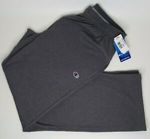 Champion Men's Gray Jersey Pants Gym w/ Pockets Authentic Light Weight