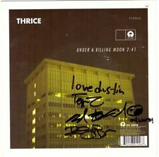 "Thrice/Thursday ""split"" 7"" OOP Signed Autographed Dustin Kensrue Circa Survive"