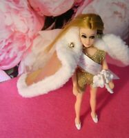 Topper Dawn Doll clothes....BEAUTY PAGEANT CAPE with swimsuit and REMAKE