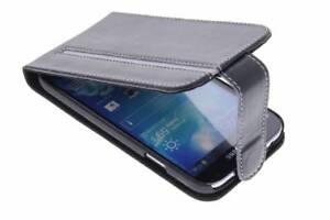 (RV418) JOBLOT of 40 x Valenta Black Leather Flip Case for Samsung Galaxy S4