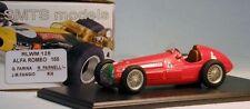 Alfa Romeo White Metal Diecast Formula 1 Cars