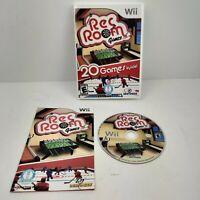 Rec Room Games (Nintendo Wii, 2009) CIB video game manual box