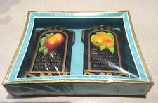 Vintage Miller Chalkware Wall Plaques