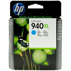Original HP 940XL cyan C4907A OfficeJet Office Jet Pro 8000 8500 -- o.V.