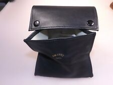 Tim West Pipes Compact Size Leather Pipe Tobacco Box Pouch Soft Supple Lambskin