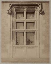 Architecture Moyen Âge Art gothique France Vintage albumine ca 1880