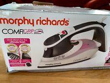 MORPHY RICHARDS 2600W ELECTRIC COMFIGRIP STEAM IRON CERAMIC SOLEPLATE 301020
