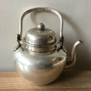 Lovely Antique Chinese Silver Teapot